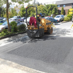 Royal Oak Mall asphalt patching by Madison Paving in Victoria BC